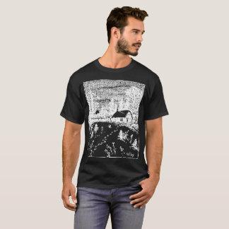 Camiseta T-Camisa inversa da ilustração da fazenda de Colby
