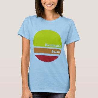 Camiseta T-camisa retro de Huntington Beach