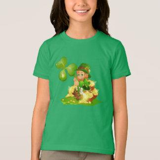 Camiseta T-Camisa-Rua dos miúdos. O dia de Patrick