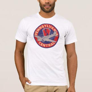 Camiseta T central das linhas aéreas de Pensilvânia