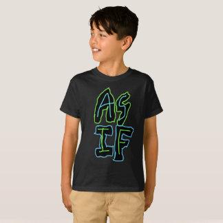 Camiseta T confortável dos miúdos