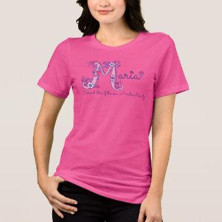 Camiseta T conhecido do monograma do significado das