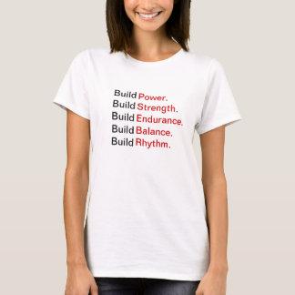 """Camiseta T """"construção da malhação de BRICKHOUSE… """""""