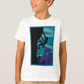Camiseta T crepuscular de Kid´s do montanhista