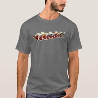 Camiseta T cripto da raça