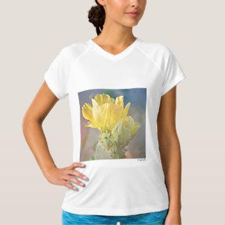 "Camiseta T curto da flor da pera Pickly"" da luva do N.B."