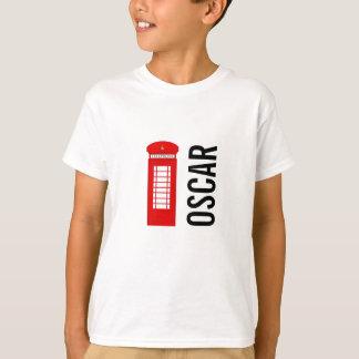 Camiseta T Customisable britânico dos miúdos da caixa de