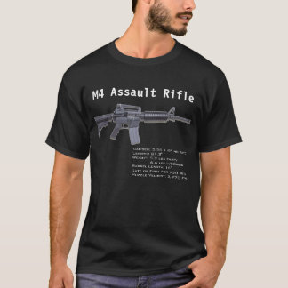 Camiseta T da alteração de M4/Second