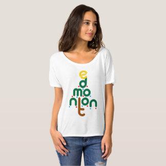 Camiseta T da árvore de Natal de Edmonton