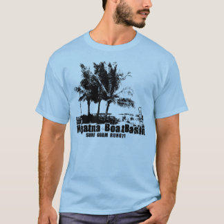 Camiseta T da bacia do barco de Hagatna
