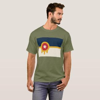 Camiseta T da bandeira de Tulsa
