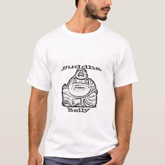 Camiseta T da barriga de Buddha