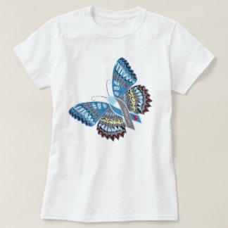 Camiseta T da borboleta do diabetes da cura