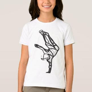 Camiseta T da campainha da dança de Hip Hop (meninas)