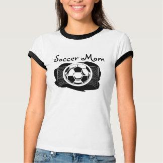 Camiseta T da campainha da mamã do futebol