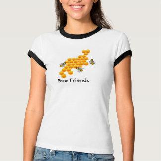 Camiseta T da campainha da mulher dos amigos da abelha