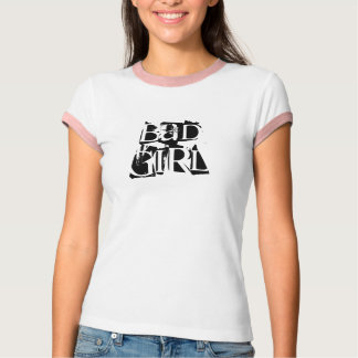 """Camiseta """"T da campainha das senhoras da menina má"""""""