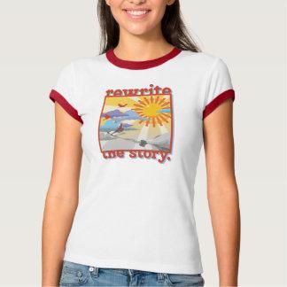 """Camiseta T da campainha do """"autor"""""""