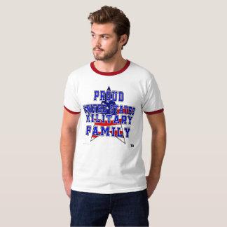 Camiseta T da campainha dos pais de família militares