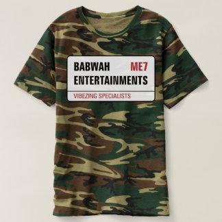 Camiseta T da camuflagem dos senhores de Babwah Ents
