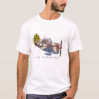 Camiseta T da cauda do verificador P-40