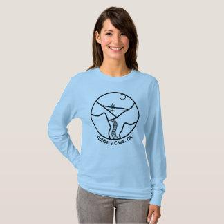 Camiseta T da caverna dos ladrões das mulheres