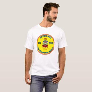 Camiseta T da cera do surf