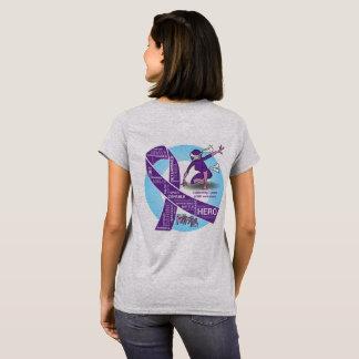 Camiseta T da consciência de IBD