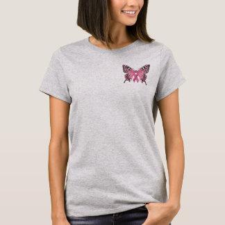 Camiseta T da consciência do cancro da mama