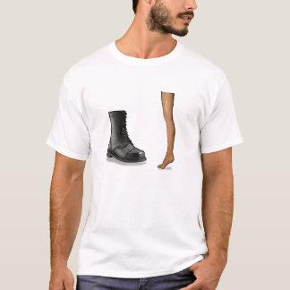 Camiseta T da cópia ilegal