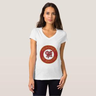 Camiseta T da corte de Sheba
