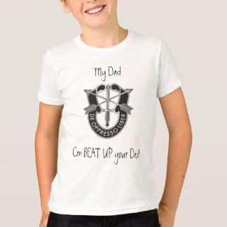 Camiseta T da criança das forças especiais