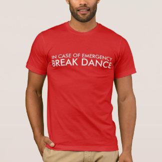 Camiseta T da dança de ruptura