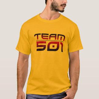 Camiseta T da equipe 501 da cor (mais opções da cor