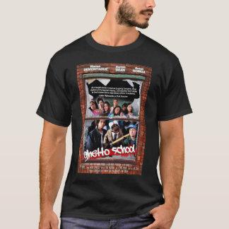 Camiseta T da escola do gueto