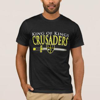 Camiseta T da escola dos cruzados