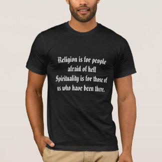 Camiseta T da espiritualidade