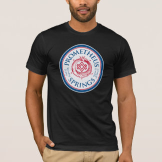 Camiseta T da etiqueta dos primaveras do PROMETHEUS