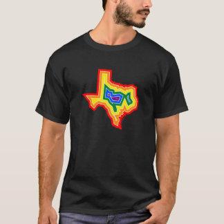 Camiseta T da explosão do orgulho de Texas (#TBD)