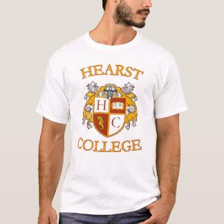 Camiseta T da faculdade de Hearst