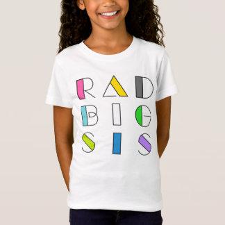 Camiseta T da família do estilo do hipster dos anos 80 da