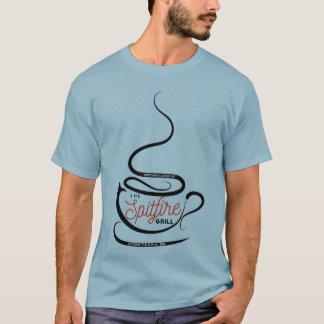 Camiseta T da grade da cabeça-quente de HP