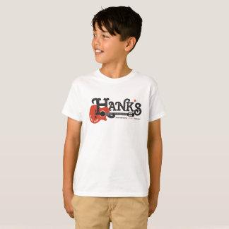 Camiseta T da guitarra de Hank (miúdos) no branco