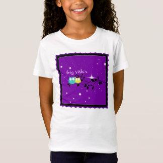 Camiseta T da irmã mais velha