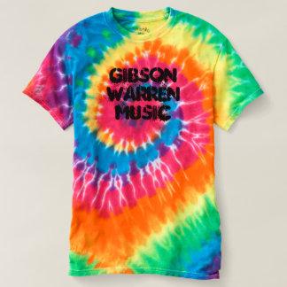 Camiseta T da Laço-Tintura da música de Gibson Warren