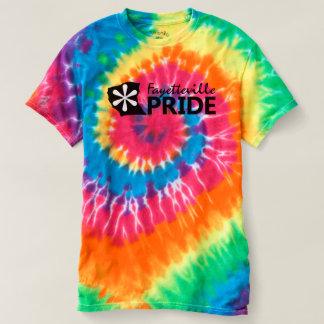 Camiseta T da Laço-Tintura do orgulho de Fayetteville