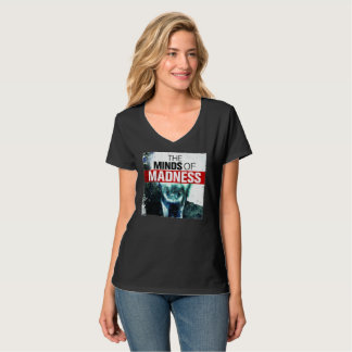 Camiseta T da loucura das mulheres