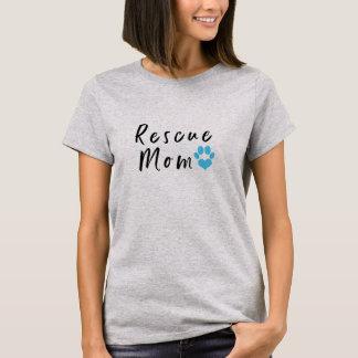 Camiseta T da mamã do salvamento