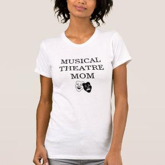 Camiseta T da mamã do teatro musical