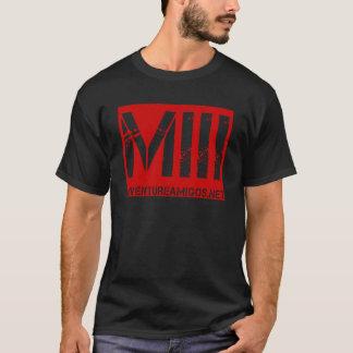 Camiseta T da meia-noite do desordem do metal!